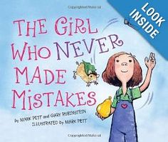 The girl who never made mistakes...perfect for the perfectionist in your class