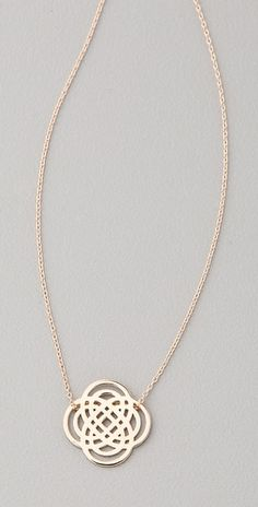 Mini Infinity Necklace by Ginette_ny