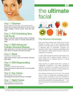 The Arbonne FC5 FACIAL Treatment. 'To call this experience a facial is to demean it. It is a total mind, body and spirit pamperfest'.