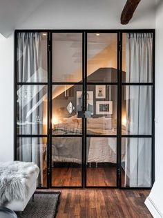 Zoom on the trendy interior canopies, to adopt to partition your house while lighting it! - Zoom on the trendy interior canopies, to adopt to partition your house while lighting it! Home Bedroom, Bedroom Decor, Bedrooms, Bedroom Inspo, Bedroom Curtains, Bedroom Ideas, Room Divider Ideas Bedroom, Curtain Room, Ikea Bedroom
