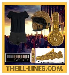 """TheILLlines"" by the-ill-lines ❤ liked on Polyvore featuring NIKE, Beats by Dr. Dre, Canvas by Lands' End and Forever 21"