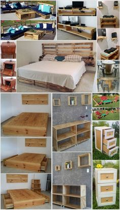 Recycling Ideas with Old Shipping Pallets