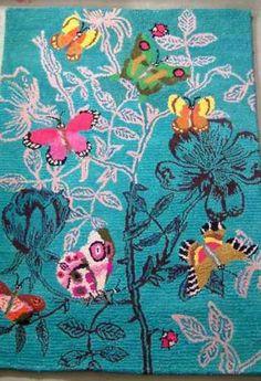 Roses and Butterflies rug, by Nathalie Lete, £1,780, Caravan (www.caravanst - The Independent