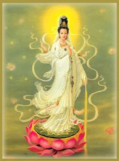 Kwan Yin - A Deusa da Misericórdia - Portal Arco Íris-Núcleo de Integração e Cura Cósmica