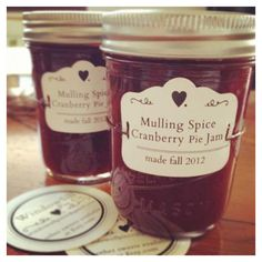 Mulling Spices with Cranberry Pie Jam - 8 oz ($6) ❤ liked on Polyvore