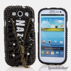 "Style PN_1002 This Personalized Bling case can be handcrafted for Samsung Galaxy S3, S4, Note 2, Note 3. The current price is $79.95 (Enter discount code: ""facebook102"" for an additional 10% off during checkout)"