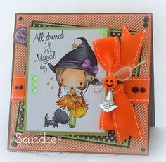SWEET CARD CLUB: Seguimos con halloween???