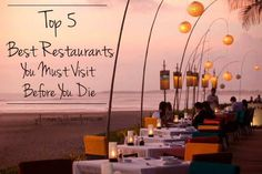 Best Restaurants In The World - February is the month of love and the month of sharing happiness . A month of happiness to enjoy traveling . A month of love to go out