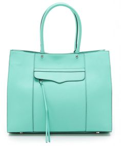 Colorful bags for spring: Rebecca Minkoff MAB Tote
