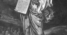 Como fazer uma tábua para ensinar os dez mandamentos