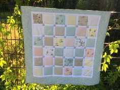 Babyquilt - romantic baby blanket - longarm quilted - made in Germany Quilt Making, Germany, Romantic, Blanket, Frame, How To Make, Baby, Home Decor, Cuddling
