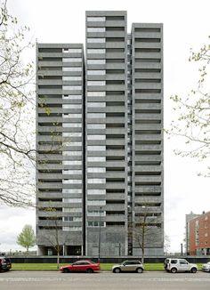 Wiel Arets Architects knsm island skydome . amsterdam