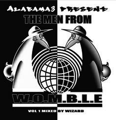 Men From W.O.M.B.L.E- Alabama 3 Album Art