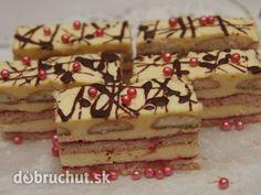 Ružové+rezy Czech Recipes, Ethnic Recipes, Desert Recipes, Tiramisu, Cake Decorating, Decorating Ideas, Food And Drink, Pudding, Treats