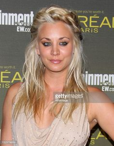 Kaley Cuoco attends the 2012 Entertainment Weekly Pre-Emmy Party at Fig & Olive Melrose Place on September 21, 2012 in West Hollywood, California.