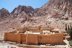 St. Catherine's Monastery - South Sinai, Egypt The oldest continually operated library in the world.
