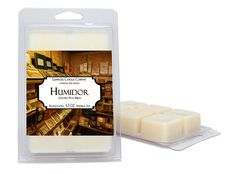 Wax Melts  2 Pack  The Humidor  Large 5.3 oz Per Pack Of
