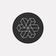 #JL17-973 A new geometric design every day Geometric Logo, Geometric Designs, Geometric Shapes, Typography Design, Logo Design, Graphic Design, Mathematics Geometry, Geometry Art, Impossible Shapes