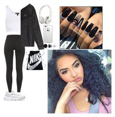 """""""Untitled #201"""" by bbysixteen on Polyvore featuring Topshop, NIKE, Beats by Dr. Dre, LifeProof and BERRICLE"""