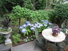 small patio.