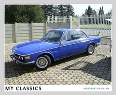 1971 BMW 2800 CS  classic car