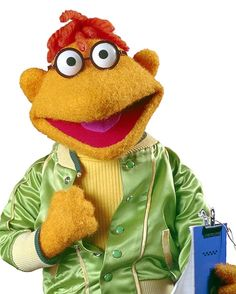 """Scooter. Scooter serves as a """"Gofer"""" backstage on The Muppet Show."""