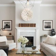 Fireplace Alcoves, Modern, living room, Wick Design