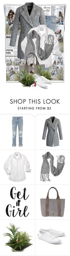 """""""Who Runs The World? Girls!"""" by summersunshinesk7 ❤ liked on Polyvore featuring rag & bone/JEAN, Chicwish, Lalù, Cricut, Roberta Gandolfi, Home Decorators Collection, Lacoste and COVERGIRL"""