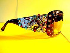 BRAND NEW ITEM Western Sunglasses By Brados Bling by BradosBling on Etsy www.bradosbling.com