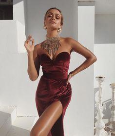 Grenadine Gown | #saboskirt