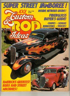 1001 Custom & Rod Ideas Fall 1978 Antique Ford Chevy Old Vintage Car Magazine