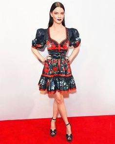 """Clothes are pieces of art so I like them to be as dramatic and beautiful as possible. I enjoy feeling like a painting and wearing floaty things that look like theyre straight out of a fairy tale"""" @anyataylorjoy says in our April issue. Tap the link in our bio to learn why she's our #StyleCrush. : @gettyimages  via INSTYLE MAGAZINE OFFICIAL INSTAGRAM - Fashion Campaigns  Haute Couture  Advertising  Editorial Photography  Magazine Cover Designs  Supermodels  Runway Models"""