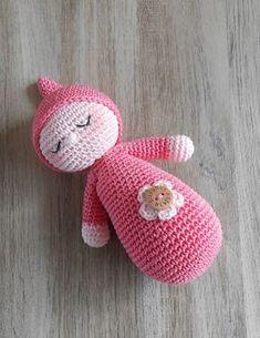 Sensational Benefiting From Beginners Crochet Ideas. Awesome Benefiting From Beginners Crochet Ideas. Crochet Baby Toys, Crochet Amigurumi, Crochet Toys Patterns, Amigurumi Doll, Crochet Animals, Amigurumi Patterns, Diy Crochet, Stuffed Toys Patterns, Knitted Dolls