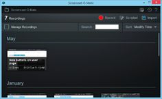 Screencast-O-Matic is a tool that can be used to capture audio and video.  You can capture what you're doing on the screen and save it as a video.  Please see https://www.youtube.com/watch?v=tQeky1RG0jU for a short tutorial on how to use it.