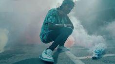 Air Jordan III True Blue shoes worn by Wiz Khalifa in STAYIN OUT ALL NIGHT by Wiz Khalifa (2014) @jumpman23