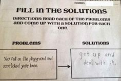 Funniest Kid Test Answers are hilarious so that Funny Kids Test Answers are wrong and totally brilliant at both times, unlike Funny Test Answers. Funniest Kid Test Answers, Kids Test Answers, Funny School Answers, Funny Exam Answers, Stupid Test Answers, Funny Pics, Funny Pictures, Funny Quotes, Funny Memes