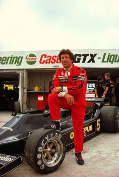 Mario Andretti Lotus - Ford 1978