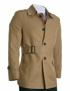 FLATSEVEN Herren Slim Fit Designer Stilvolle Trench Coat (CT200) FLATSEVEN, http://www.amazon.de/dp/B00A7ALTTE/ref=cm_sw_r_pi_dp_caUNtb0TB7T79