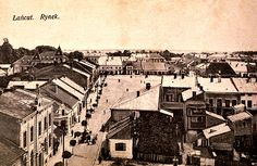 The Marketplace in Lancut, Poland, Postcard Poland, Paris Skyline
