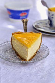 Cheesecake à la ricotta et au lemon curd pour fêter la sortie du e-book Galbani :adoptez la ricotta attitude   On Dine chez Nanou