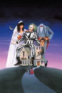 Beetlejuice movie poster without text