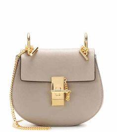 Drew Mini leather shoulder bag | Chloé