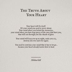 The truth about your heart