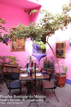 Mesón Sacristía de la Compañía @ Hoteles Boutique de Mexico