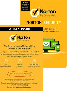 If you get trapped in this trick and install such antivirus programs on your computer then remember, not only your credit card details are at stake. Norton Security, Norton 360, Norton Antivirus, Mobile Security, Security Solutions, Key, Tecnologia, Computer Science