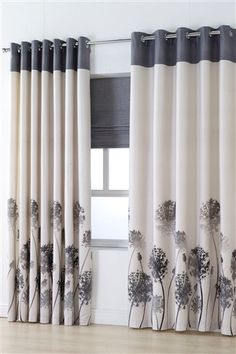Designed by DEBORAH WILLMINGTON DESIGNS - Roche from 24 Studio, season AW15 Cute Curtains, Elegant Curtains, Modern Curtains, Drapes Curtains, Rideaux Design, Living Room Decor Curtains, Custom Made Curtains, Colourful Living Room, Indian Home Decor