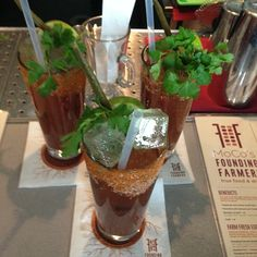Do you like Founding Farmers Bloody Mary's?! Vote for us for best Bloody Mary in DC at   http://www.washingtoncitypaper.com/bestofpoll/nominations/show/2221  (Photo credit: @yianno324)