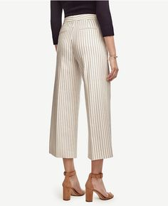 54ced20af2df Thumbnail Image of Color Swatch 9192 Image of Tall Pinstripe Wide Leg Ankle…