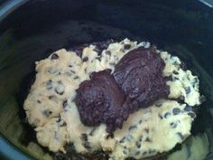 Dessert...in the Crockpot! Yes!!!...Is it possible for something to be TOO delicious?  After eating this recipe, I would have to say YES!