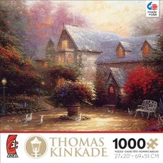 Ceaco Thomas Kinkade The Blessing of Spring Jigsaw Puzzle